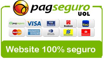 Sua compra 100% garantida com o PagSeguro.